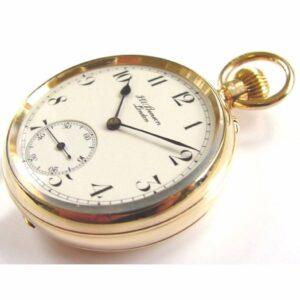J W Benson Pocket Watch