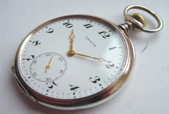 Open Faced Pocket Watch Repair