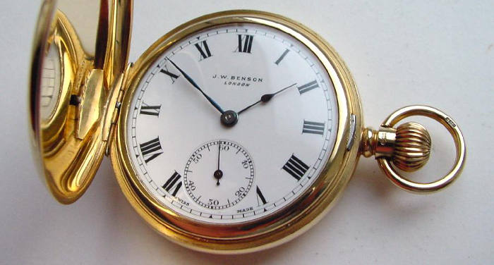 Benson Pocket Watch Repair
