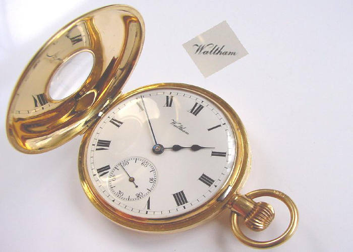 Waltham Pocket Watch Repair