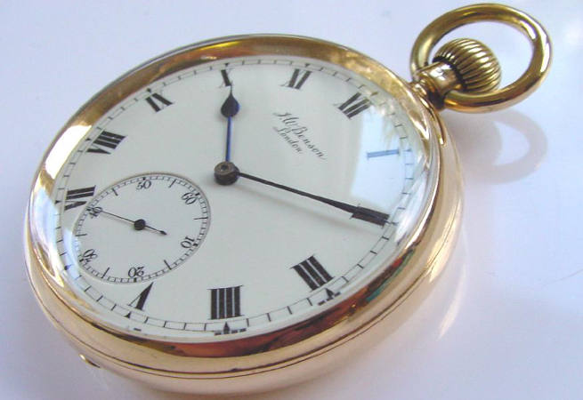 English Pocket Watch Repair